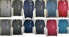 NWT Sonoma short sleeve Henley knit 2/3 button neck 0/1 Pocket mens Soft cotton