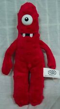 "Yo Gabba Gabba RED MUNO 9"" Plush STUFFED ANIMAL Toy"