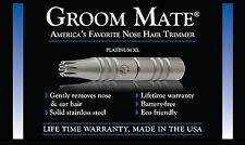 Authentic Groom Mate Platinum XL Nose Hair Trimmer - USA - Lifetime Warranty