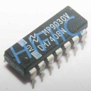 1PCS DM7408N Quad 2-Input AND Gates DIP14
