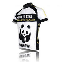 New Panda Sport Cycling Jersey Bike Bicycle Clothing Short Sleeve Jersey Top