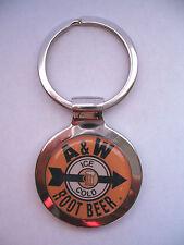 A&W Root Beer Key Chain, A&W Root Beer Soda Logo Keychain, A&W Soda Key Chain