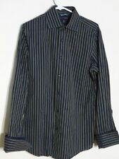 Banana Republic Men's Striped French Cuff Collared Dress Shirt Size 15-15 1/2 M