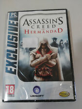 ASSASSIN´S CREED LA HERMANDAD DVD-ROM JUEGO PC ESPAÑOL UBISOFT NEW NUEVO !