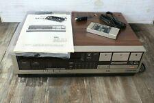 Vintage Hitachi VHS Video Deck Model # VT-35A