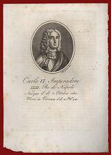 Carlo VI d'Asburgo Re di Napoli Vienna Biografia Duca di Milano Parma Piacenza