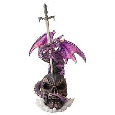 Medieval Fire Breathing Dragon Mystical Letter Opener Sword Desktop Statue