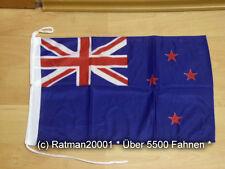 Fahnen Flagge Neuseeland Bootsfahne Tischwimpel - 30 x 45 cm