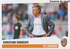 N°152 CHRISTIAN GOURCUFF # FC.LORIENT FCL STICKER FOOT 2014 PANINI