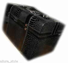 """Lancome Cosmetic/Jewerly Case in Man-Made alligator Skin NEW 12"""" x 7"""" x 7"""""""