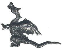3 wholesale lead free pewter dragon figurines H8013