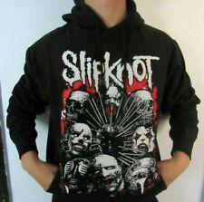 SLIPKNOT FACES HOODIES PUNK ROCK BLACK MEN's SIZES
