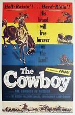 Cowboys The, 1954, Documentary, 1 Sheet (27x41)