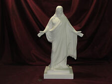Ceramic Bisque Jesus Christ Arms Out U-Paint Ready to Paint Religious Christian