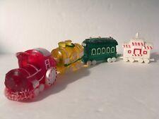 Train Hallmark Merry Miniature Sweet Express Complete Set Of 4