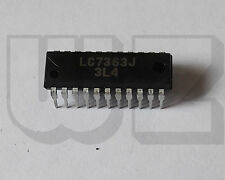1 x LC7363J SANYO DTMF/OUTPUT-PULSE dialer CMOS LSIs with redial function