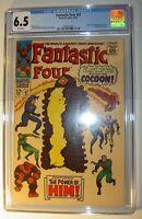 Fantastic Four #67 FN+ (CGC 6.5), 1st app. of Him (Warlock), Jack Kirby art 1967