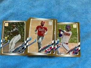 2021 Topps Series 1 Gold /2021 Lot of 38 Cards