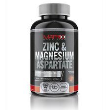 MATRIX NUTRITION ZINC MAGNESIUM ASPARTATE 240 TABLETS TEST TESTOSTERONE BOOSTER
