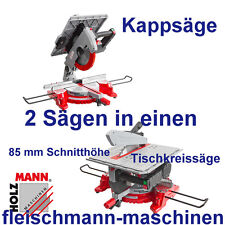 Holzmann Kombi Tischkreissäge + Kappsäge TK 305 mit LED-Licht