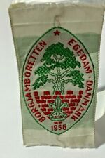 More details for vintage boy scout badge patch scouts of denmark jamboree 1956
