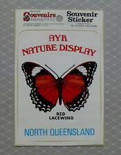 AYR , North Queensland..  Original Vintage 1980,s Souvenir sticker