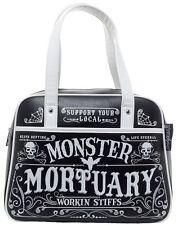 Sourpuss Working Stiffs Monster Mortuary Bowler Bag NEW Bowling Horror Goth Punk