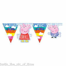 Peppa Pig Childrens Kids Girls Boys Birthday Party Room Jointed Banner