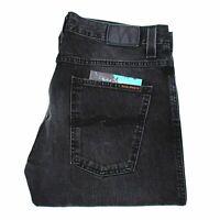 Nudie Jeans Slim Jim Used Black Twill 169 GBP Noir Hommes Jean En Taille 34/32
