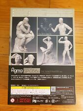 Freeing The Table Museum figma SP-056b The Thinker Plaster Ver. Japan Original