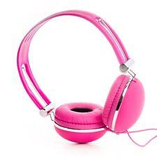 RockPapa Over Ear Kids Girls Childrens DJ Headphones iPad mini iPad Air 3 4 Pink