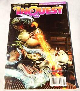 Inquest Fulgore Vs Glacius July 1996 CCG Guide Price Guide VG