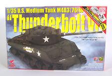 ASUKA 35-036s US SHERMAN M4A3 Thunderbolt VI Tank Panzer Kit Bausatz 1:35