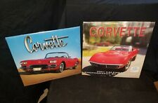 Corvette 2001 Calendars 12 months (2 pcs) SEALED