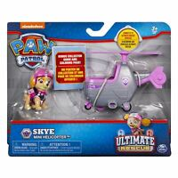 Paw Patrol Ultimate Rescue SKYE Figure with Mini Helicopter Playset