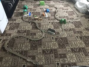 Huge Thomas Track Master Track With Trains And Accesories