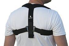 Upper Back Posture Corrector and Clavicle Support for Sprains & Shoulders Large