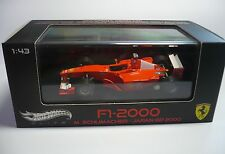 FERRARI F1 2000 M. SCHUMACHER JAPAN GP 2000 1:43 MATTEL HOT WHEELS ELITE