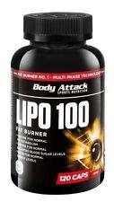 Body Attack Lipo 100 Kapseln 120st PZN 9212695