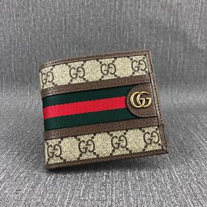 Gucci wallet striped wallet