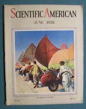 Scientific American June 1926 Howard V Brown FREIGHT