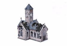 WW2 Village Church – Destroyed N581 15mm Building Terrain Flames of War