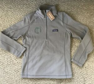 Patagonia Micro D Fleece Pullover Womens Small 1/4 Zip Jacket w/ Logo New w Tags