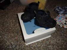 NEW NIB RALPH LAUREN BLACK BOOTS 1 HAMLIN BOYS INFANT BABY SHOES