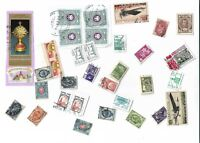 Russia / Soviet Union postage stamps x 34, on and off paper, used