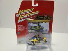 Johnny Lightning 2004 Ski-Doo MXZ X Formula XP-S Classic Gold Detailed