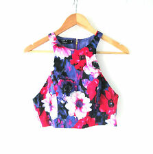 Size Regular Floral Sleeveless Tops & Blouses for Women