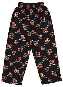 Outerstuff NFL Football Youth Boys Cincinnati Bengals All Over Print Fleece Pant