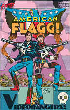 American Flagg! # 11 (Howard Chaykin) (USA, 1984)