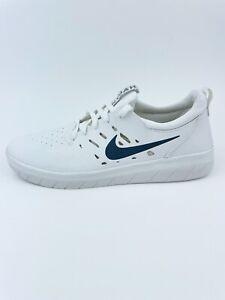 Nike SB Nyjah Free Summit White Men's Size 6.5 Anthracite Skate Shoes AA4272-100